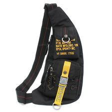 Men Waterproof Oxford Shoulder Messenger Crossbody Bag Travel Hiking Chest Pack