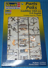 Revell Cadillac 354 V-8 -Chrome-NEW-1/25 Scale-Model Car Swap Meet