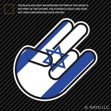 Israeli Shocker Sticker Die Cut Decal Self Adhesive Vinyl Israel ISR IL