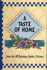 *WILLIMANTIC CT 1997 A TASTE OF HOME COOK BOOK *McSWEENEY SENIOR CITIZENS *LOCAL