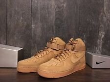 NIB NIKE AIR FORCE 1 HIGH '07 LV8 HI WB WHEAT FLAX 882096 200 SZ 10