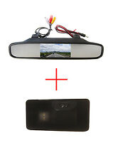 4.3'' Mirror Monitor CCD Reverse Caméra for BMW E81 E87 E90 E91 E92 E60 E61