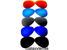 Replacement Lenses For Ray Ban RB3025 Aviator Black&Blue&Silver&Green&Red 62mm