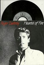Roger Daltrey - Hearts of Fire (1987)  GERMANY 7""