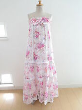 LIZ LISA Floral Dress Lolita Hime Gyaru Kawaii shibuya109 Very Cute (e-328)