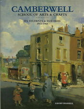 CAMBERWELL SCHOOL OF ARTS & CRAFTS ITS STUDENTS & TEACHERS ART BOOK BY HASSELL