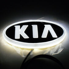 4D Car Led Real Logo Light Auto Badge Emblem Tail Lamp For KIA SOUL Forte CERATO