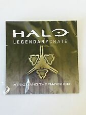 Halo Loot Crate Halo Wars Fireteam Apollo Banished Metal Pin Rare Gold Variant