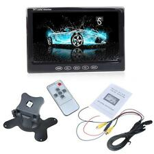 "7"" TFT LCD Color Car Monitor For DVD VCD Rearview Camera Remote Controller P13N"