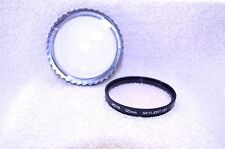 Hoya 55 mm Skylight (1B) Screw-In Filter Made in Japan with Case (Q-11)