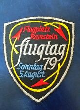FLUGPLATZ RAMSTEIN FLUGTAG 79 GERMANY AIR SHOW PATCH
