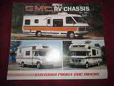 1974?-1975?-1976? GMC Motorhomes Color Brochure-ORIGINAL! -js-