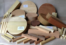Woodturning Selection Box - Mixed Species Bowl & Square Wood Turning Blanks Gift