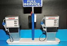Service Station Gas Pump Island(Ready to Display) 1:18 to 1:24 Scale DIORAMA NWB