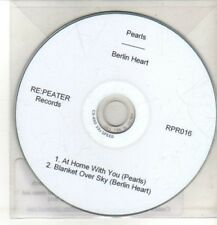 (CQ513) Pearls / Berlin Heart, split single - 2011 DJ CD