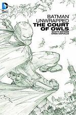 BATMAN UNWRAPPED: THE COURT OF OWLS HARDCOVER Greg Capullo DC Comics HC Synder