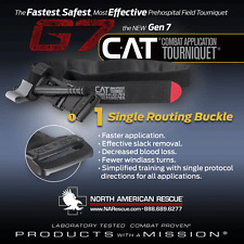 North American Rescue GEN 7  C-A-T Combat Application Tourniquet, Black