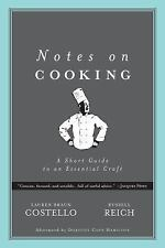 Notes on Cooking: A Short Guide to an Essential Craft (Notes on...)-ExLibrary