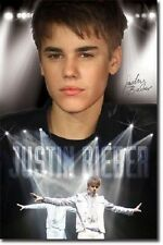 JUSTIN BIEBER ON STAGE IN TUXEDO POSTER PRINT NEW 22x34 FAST FREE SHIPPING