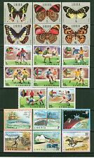 Liberia 1973-1974: 32 Stamps #629/688-5 MLH Sets; Butterflies,UPU+More-Lot#9/28