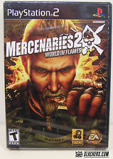 Mercenaries 2: World in Flames (PlayStation 2)  SEALED!!!  NEW!!