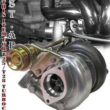 T25/T28 Turbocharger .80 A/ R Trim w/ Internal 7PSI Wastegate T25 Turbo Flange