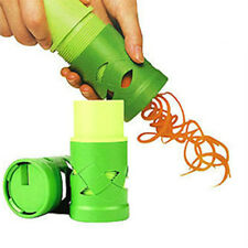 Vegetable Veggie Fruit Cucumber Screw Rotary Rotating Slicer Grater Kitchen Tool
