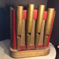 Circa 1930's Figural Organ Pipes Seeburg Jukebox Remote Speaker