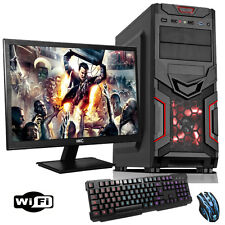 "Fast 3,90 ghz double cœur AMD 19 ""desktop gaming pc 8 go 1 to bundle wifi dp623"