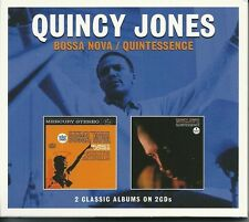 QUINCY JONES BOSSA NOVA / QUINTESSENCE - 2 CD BOX SET