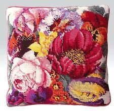 EHRMAN POSY OF FLOWERS needlepoint tapestry kit ELIAN MCCREADY RETIRED DESIGN