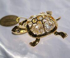 Tartaruga gioiello CRYSTAL TEMPTATIONS svarovski oro cristallo collezione donna