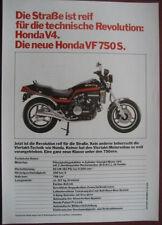 Motorrad Prospekt HONDA V4   VF 750 S  1981