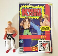 PKA Official KARATE KICKER action figure 2 1985 Placo Toys Kickboxer 1980s