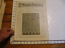 The Modern Priscilla : lynn Mass 1899 APRIL : vol XIII # 2 SIX CENTURIES OF LACE