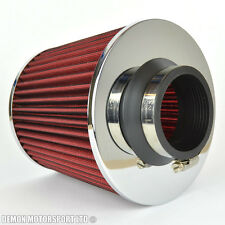 Performance Twin Cone Air Filter Red 70mm / 2.75 inch Inlet (P/N 76272)