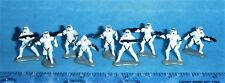 GALOOB STAR WARS MICRO MACHINES 66080 IMPERIAL STORMTROOPERS SET OF 9 Complete