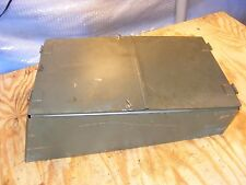 "MILITARY ARMY TANK TRACKED TRUCK ""HINGED COVER HD BOX LID OR ACCESS PANEL"" NEW"