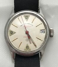 Vintage Longines Prima West End Watch Co. Military Style Solid Lugs WWII