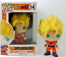 Funko POP! Bobble Head Dragon Ball Z Vinile Personaggio Super Goku Sayan