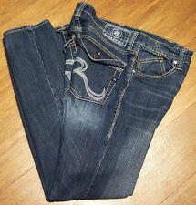 Men's Rock & Republic Rider Thick Stitch Blue Jeans sz. 32 x 34
