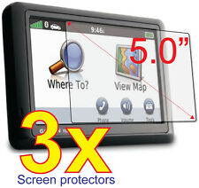 3x Anti-glare Matte LCD Screen Protector for GPS Garmin Nuvi 2555 2595 LM LT LMT