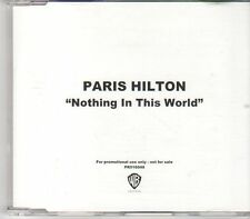 (EN28) Paris Hilton, Nothing In This World - 2006 DJ CD