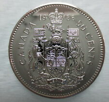1986 CANADA 50 CENTS PROOF-LIKE COIN
