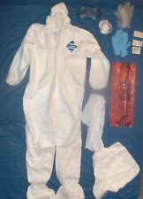 Safety hazmat suit kit, paint, cleaning,  disasters Survival  Protection