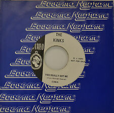 "THE KINKS - YOU REALLY GOT ME - PROMO !!!!!!   7""SINGLE (G412)"