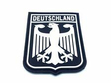 German Royal Coat Of Arms Imperial Eagle Germany Flag Airsoft PVC Patch