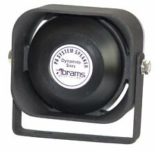 100 Watt Siren Speaker (Capable with any 100 Watt Siren) Ultra Slim Low Profile