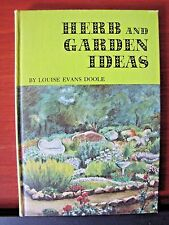 Herb and Garden Ideas by Louise Evans Doole- 1964 Growing Craft Party Gift DIY