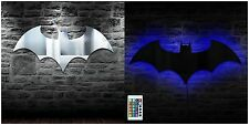 Batman Superhero LED Mirror lamp With Remote Control